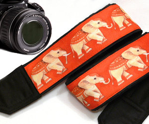 camera, elephants, and photographer image