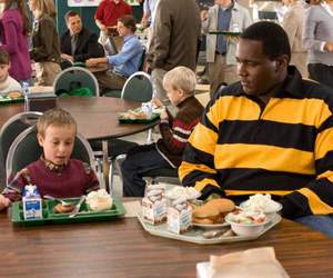 blind side, big mike, and s.j. image