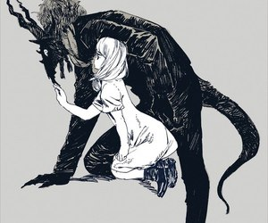 anime, monster, and art image