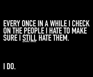 hate, haters, and quotes image