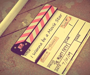 clapperboard, fashion, and stars image