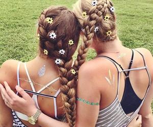back, henna, and beautiful image