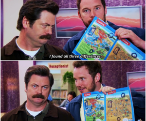 quote, chris pratt, and ron swanson image
