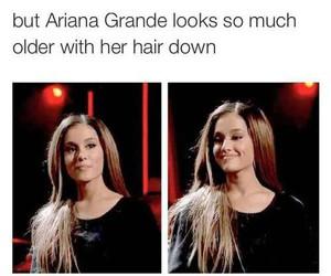 ariana grande, hair, and pretty image