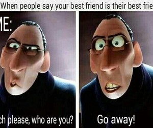 best friends, funny, and me image