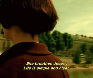 quotes, amelie, and life image