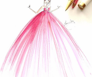 Couture, fashion, and paint image