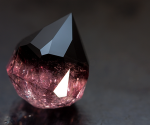 black, pink, and diamond image