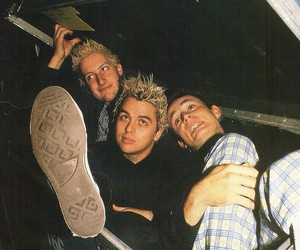 billie joe armstrong, green day, and tre cool image