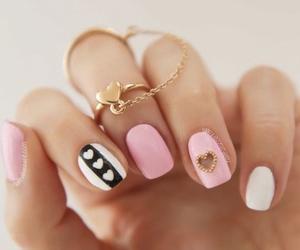 nail polish, nails, and beauty image