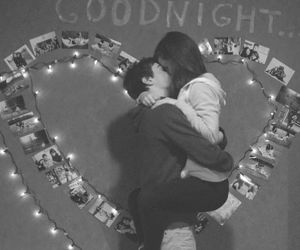 couple, goodnight, and kiss image