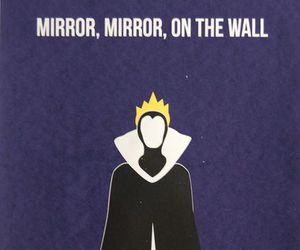disney, snow white, and mirror image
