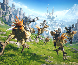 Final Fantasy XIV, game, and games image