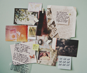 photography, wall, and memories image