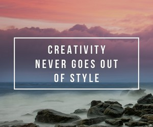 quote, creativity, and art image