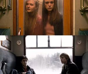 funny, harry potter, and train image