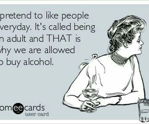 Adult, quote, and someecards image