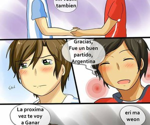anime, argentina, and chile image