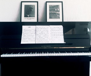 black, chords, and music image