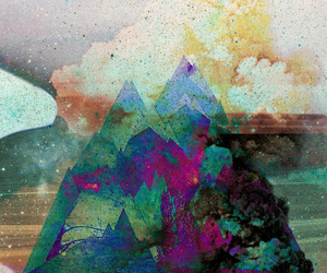 mountains and art image