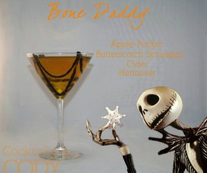 alcohol, diy, and jack skellington image