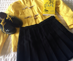 aesthetic, book, and yellow image