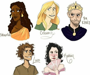 throne of glass, chaol westfall, and celaena sardothien image