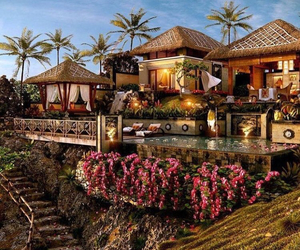 home, luxury, and tropical image