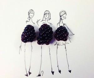 fashion, food, and cute image