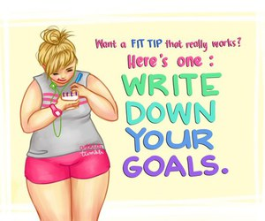 fitness, motivation, and goals image