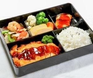 bento, food, and korean image