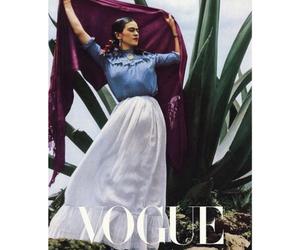 frida kahlo and vogue image