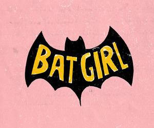 batman, batgirl, and pink image
