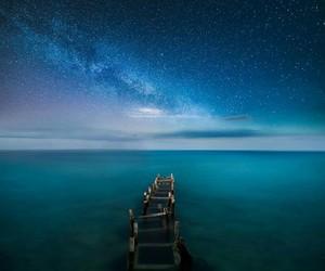 sky, sea, and stars image