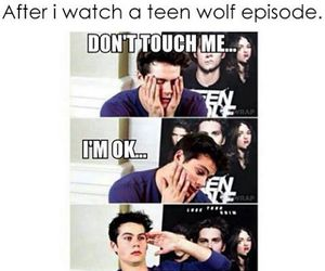 teen wolf, me, and dylan o'brien image