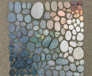 stone, rock, and colors image