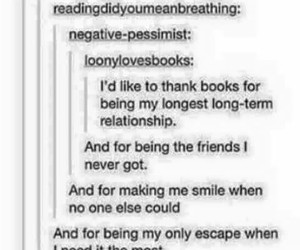 best friends, books, and help image