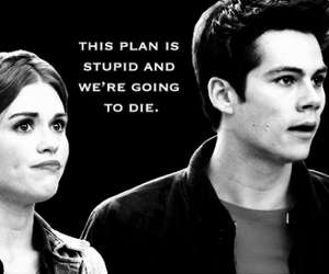 teen wolf, holland roden, and dylan o' brien image