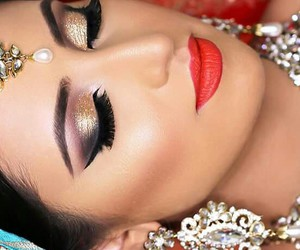 awesome, bride, and makeup image