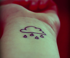 tattoo and cloud image