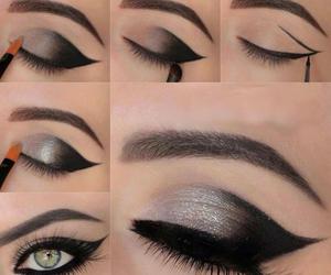 makeup, eyes, and make up image