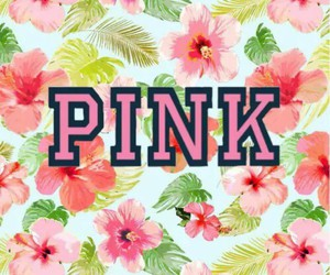 floral, pink, and wallpaper image