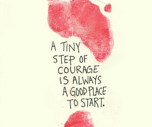quotes, courage, and inspiration image