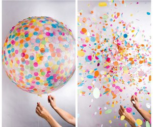 balloons, diy, and colors image