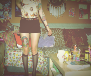 tattoo, hipster, and indie image