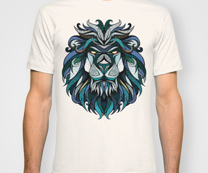 fashion, lions, and shirts image