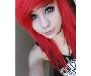 red hair, alt girl, and alternative image