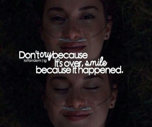 quote, Shailene Woodley, and smile image