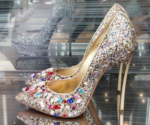 beauty, casadei, and glitter image