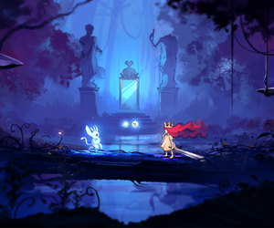 aurora, videogame, and child of light image